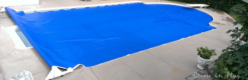 ... Retractable Pool Cover ...