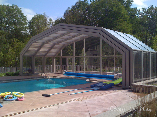 Vaughan gallery for pool enclosures swimming pool - Retractable swimming pool enclosures ...